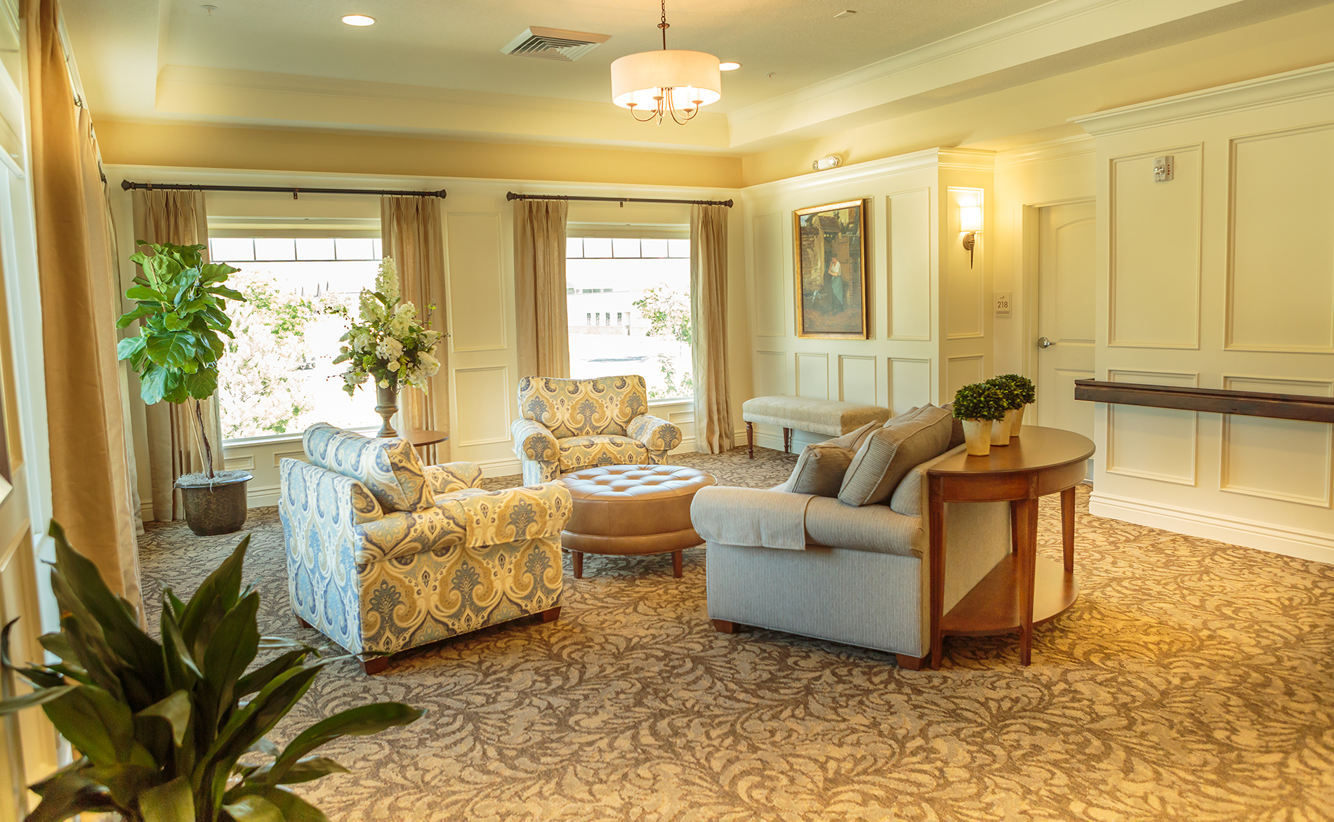 assisted living sunroom